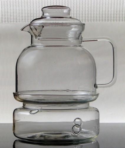 kitchen paradise teekanne mit st vchen barrel aus borosilikatglas jenaer glas 1 5 liter. Black Bedroom Furniture Sets. Home Design Ideas