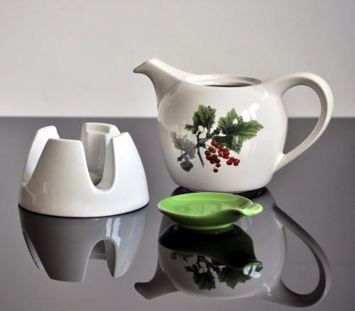 Teekanne Modern kitchen paradise teekanne mit stövchen modern white green aus